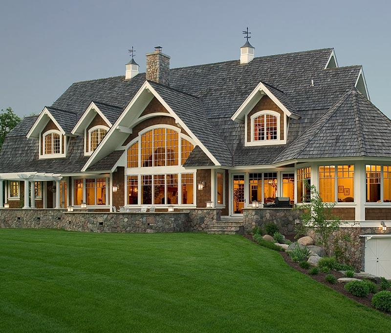 Midwest Luxury Lake Homes: Lake Home Designs Minnesota