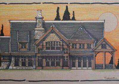 lake house plans